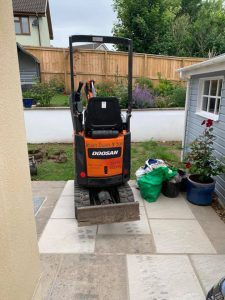 Micro Digger for hire